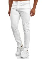 Tazzio Herren Jeans Slim Fit im Destroyed Look 165251