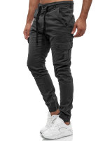 Tazzio Herren Cargohose Regular Fit 18525