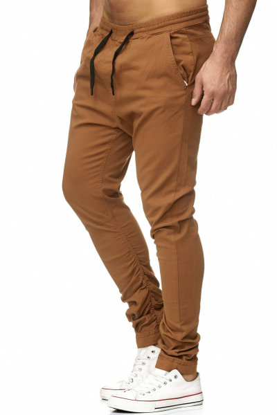 Italia Slim Fit Herren Destroyed Look Stretch Chino Jeans Hose Denim TAZZIO 18526